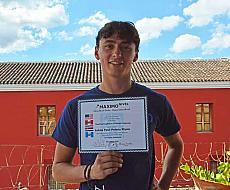 Happy TEFL/TESOL Graduate in La Antigua