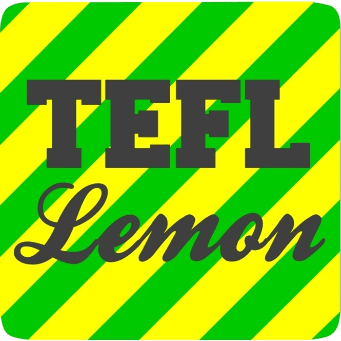 TEFL Lemon Green and Yellow Logo