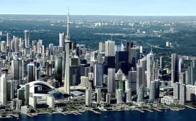 Canadian city of Toronto
