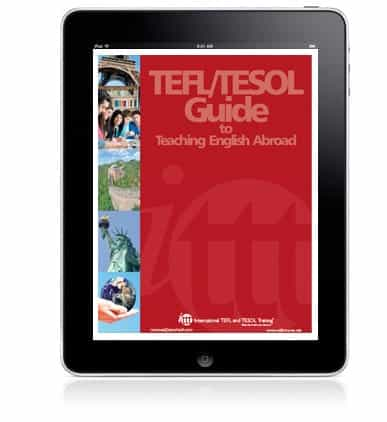 download a ITTT ebook on teaching English abroad