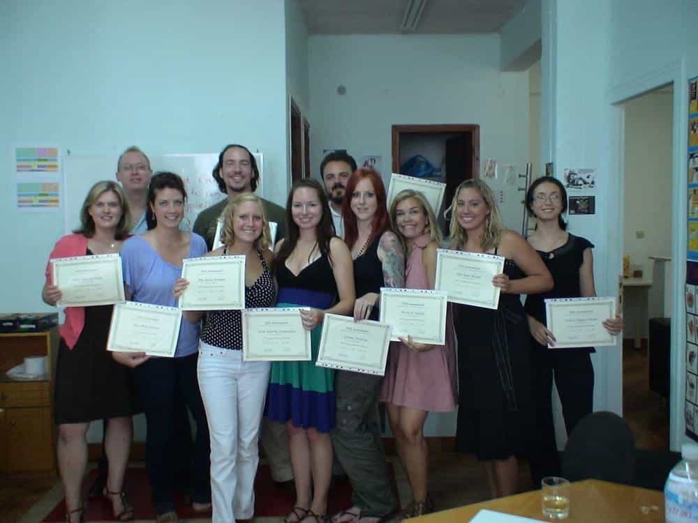 Happy TEFL/TESOL Trainees in Corinth