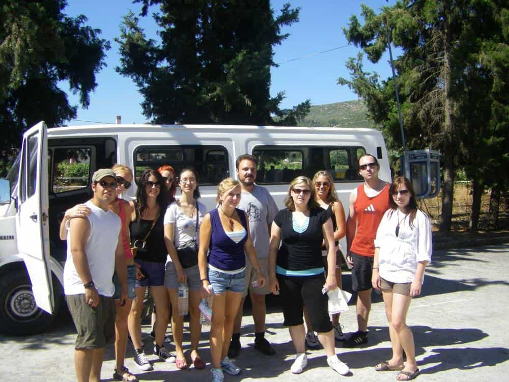 Group Excursion in Corinth