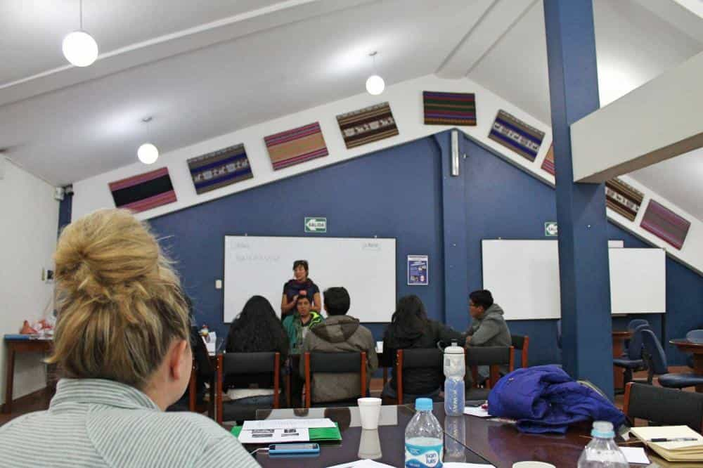 Observing Trainer Lessons in Cusco
