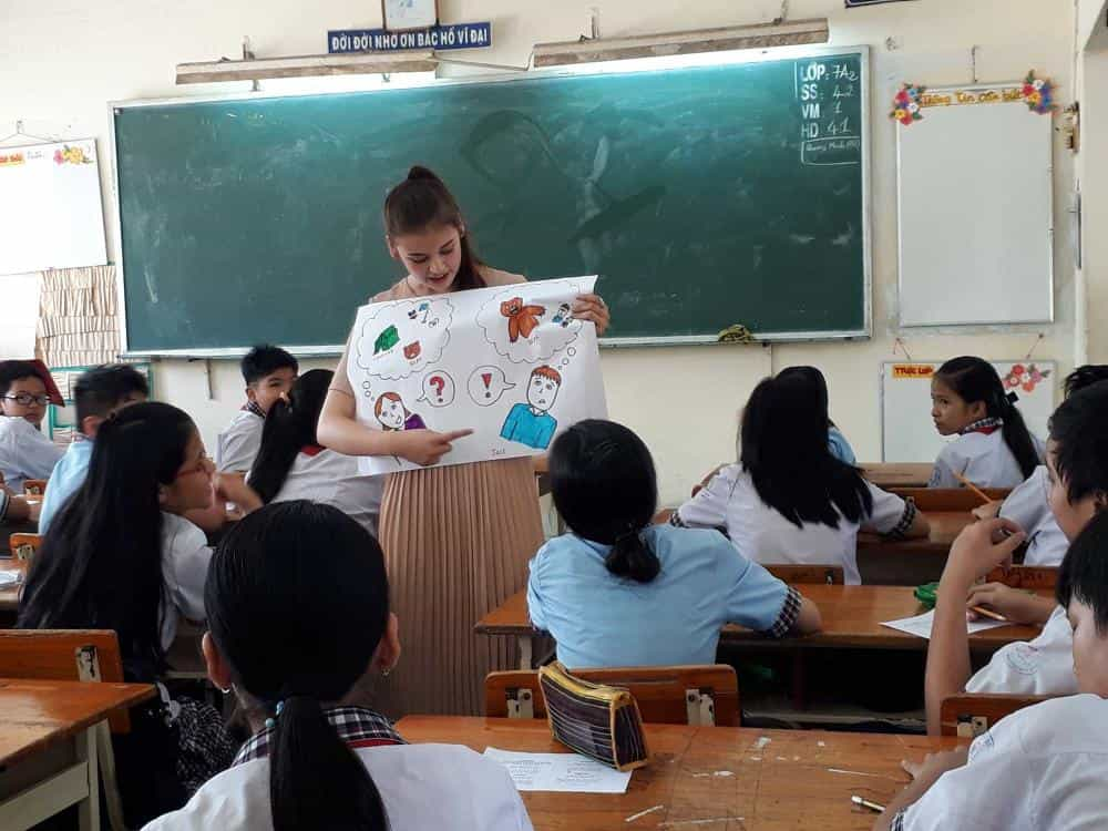 Interactive Classes in Ho Chi Minh