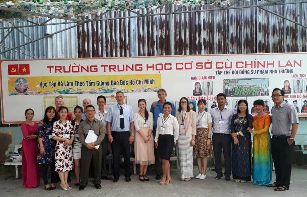Friendly and Professional Training Staff in Ho Chi Minh