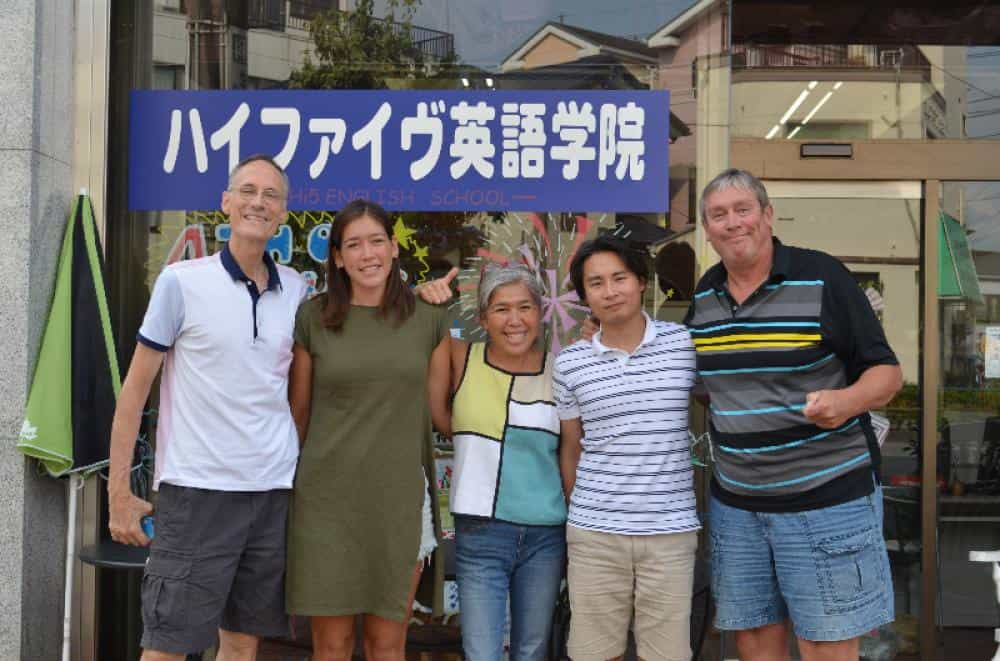 Training Staff at Tokyo TEFL Center